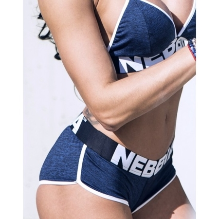 NEBBIA - BIUSTONOSZ FITNESS MODEL N267 BLUE
