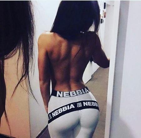 NEBBIA - LEGGINSY SUPPLEX & CARBON MODEL N214