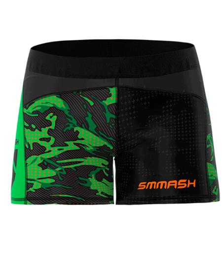 SMMASH - LEGGINSY SHORT MILITARY (PUSH UP)
