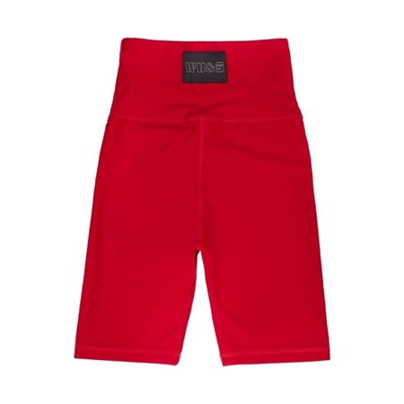 WAKE UP AND SQUAT - BIKE SHORTS (red)