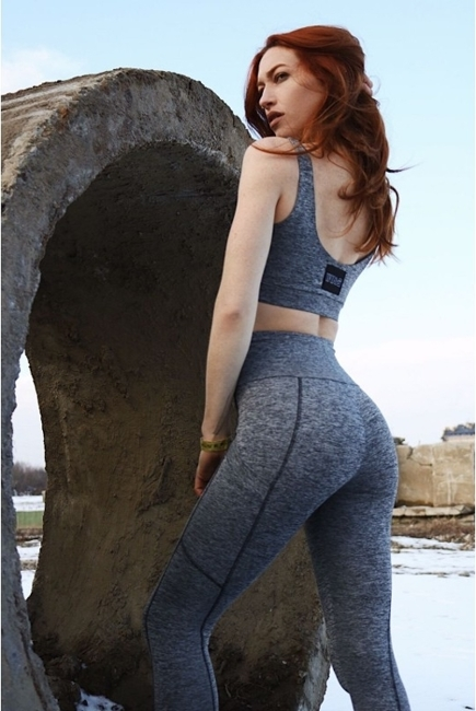 WAKE UP AND SQUAT - LEGGINSY Z KIESZENIAMI