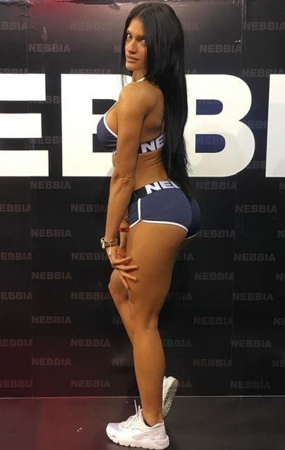 NEBBIA - spodenki FITNESS MODEL N266