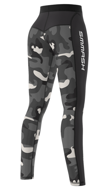 SMMASH - LEGGINSY L3 CAMO (PUSH UP)