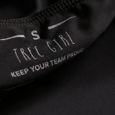 TREC WEAR LEGGINSY ANTYCELLULITOWE - TRECGIRL 017 STRONG BLACK