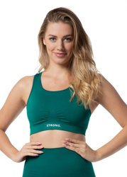 BEZSZWOWY BRA TOP (BOTTLE GREEN)