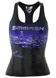 SMMASH - FIT TANK TT X-GIRL