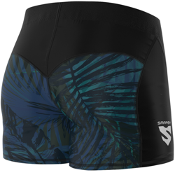 SMMASH - LEGGINSY SHORT L4 TROPICA (PUSH UP)